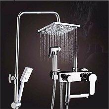 Dusche mit Bidet Vier-Gang-Duschset Kupfer