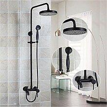 Dusche Schwarzes Ende Badezimmer Duschset