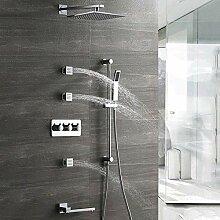 Dusche Verdeckte Badezimmer Dusche Set 4 Funktion