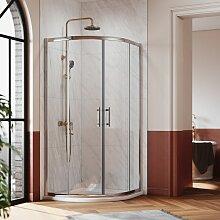 Duschkabine 100x100 Rund Duschabtrennung