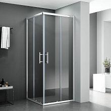 Duschkabine 75x90 Eckeinstieg Dusche
