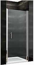 Duschkabine 80 x 185 cm Duschtür Pendeltür