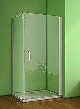 Duschkabine 80x90cm Duschabtrennung Duschtür
