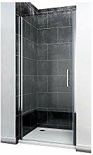 Duschkabine 90 x 185 cm Duschtür Pendeltür