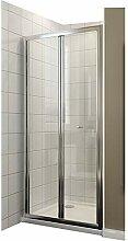 Duschkabine 90cm Duschabtrennung in Nische