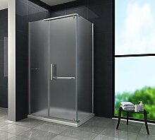 Duschkabine CERRA-FROST 100 x 80 x 195 cm ohne