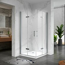 Duschkabine Duschabtrennung Eckeinstieg