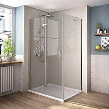 Duschkabine Eckeinstieg 750 x 800 mm Dusche