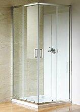 Duschkabine Eckeinstieg 90x90 cm Dusche
