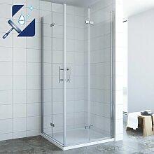 ® Duschkabine Eckeinstieg Eckdusche Faltbar