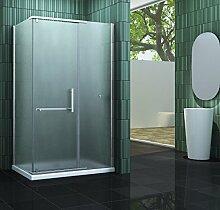Duschkabine ELLIPTO 100 x 80 x 195 cm ohne