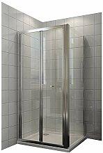 Duschkabine Falttür Duschwand glas faltbar für