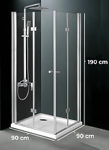 Duschkabine Pattaya-90x90 cm
