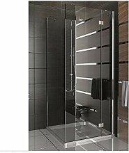 Duschkabine rahmenlos Duschabtrennung aus
