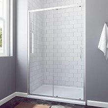 Duschkabine Schiebetür Dusche 150 cm Nischentür