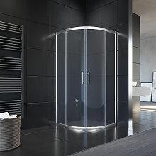 Duschkabine Viertelkreis Duschabtrennung mit