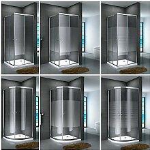 Duschkabine Viertelkreis Eckdusche Duschabtrennung