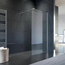 Duschkabine Walk-in Dusche Duschwand 8mm NANO ESG
