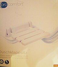 Duschklappsitz - einfache Montage