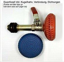 Duschkopf für Gartendusche oder Wassertank