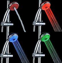 Duschkopf Handbrause Badezimmer 3 Farbwechsel LED