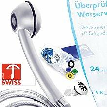 Duschkopf Handbrause mit Schlauch, Design: WENIGER