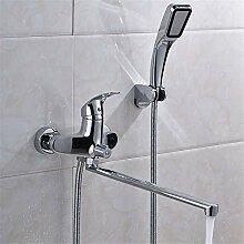 Duschkopf Handbrause Wand Wc Handhahn Bad Dusche