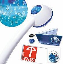 Duschkopf ideal für Durchlauferhitzer RAINDROPS,