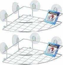 Duschkorb für Ecken ClearAmbient