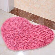 Duschmatten Hotel Bad Rutschfeste Matte rosa Farbe