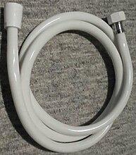 Duschschlauch Brauseschlauch Brause PVC Schlauch 150cm weiß