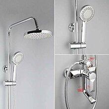 Duschset 1 Set Bad Regenduschen Wasserhahn Set