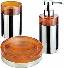 Duschset bestehend aus 3 Accessoires für Bad
