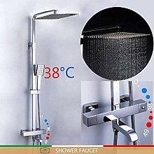 Duschset Duscharmatur Thermostat Badarmatur