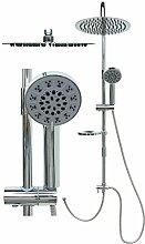 Duschset Duschsystem Edelstahl Duschstange