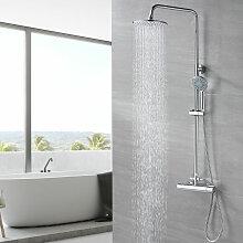 Duschset Duschsystem ohne Armatur, Regendusche