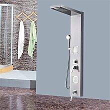 Duschset Edelstahl Dusche Set Duschwand