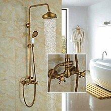 Duschset neue antike Messing Bad 8 Duschset