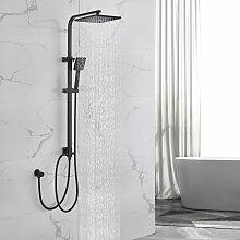 Duschset Quadrat Duschsäule Duschsystem ohne