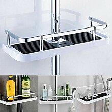 Duschstange Aufbewahrungsbox Tablett Bad Wc Rack