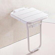 Duschstuhl Foldable Badezimmer Sitz Dusche Hocker Sicherheit Senioren mit Bein Hocker Badestuhl