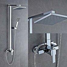 Duschsystem Duscharmatur Set mit Regendusche