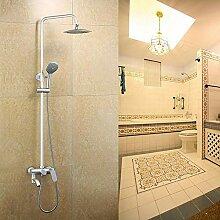 Duschsystem Duschzubehör Drei-Gang-Duscharmatur