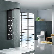 Duschsystem mit LED Temperaturanzeige 4 Funktionen