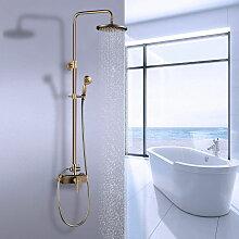 Duschsystem mit schwenkbarer Duscharm für die