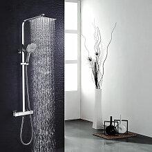 Duschsystem mit Thermostat Regendusche Duschset