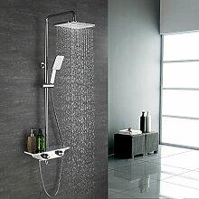Duschsystem ohne Armatur Duschsäule Regendusche