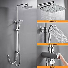 Duschsystem ohne Armatur, WOOHSE Duschset