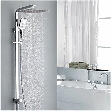Duschsystem Regendusche Kopfbrause aus 304