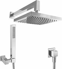 Duschsystem Unterputz Set ohne Armatur Kopfbrause